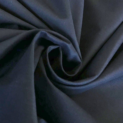 "Navy 94"" Polycotton Fabric"
