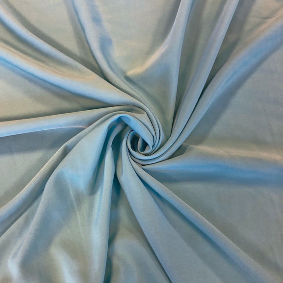Blue Soft Polyester Fabric - Pound Fabrics