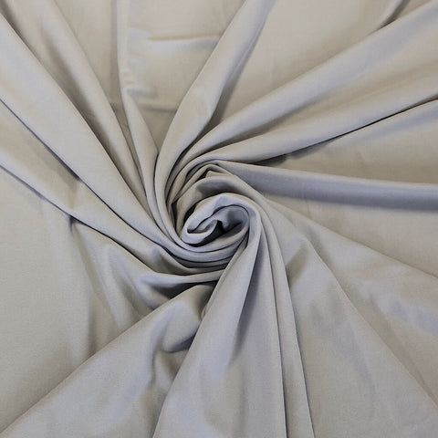 Silver Stretch Fabric