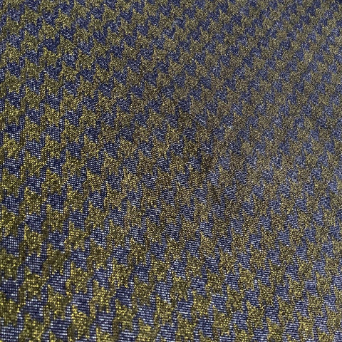 Dogtooth Denim Fabric