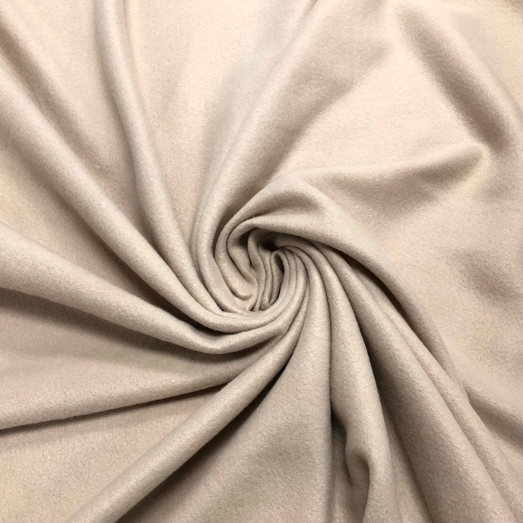 Beige Polar Fleece Fabric