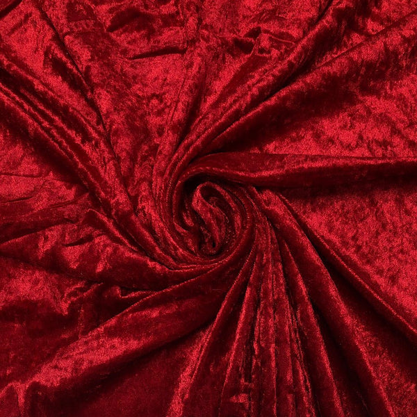 Crushed Velvet Fabric - 50m Roll