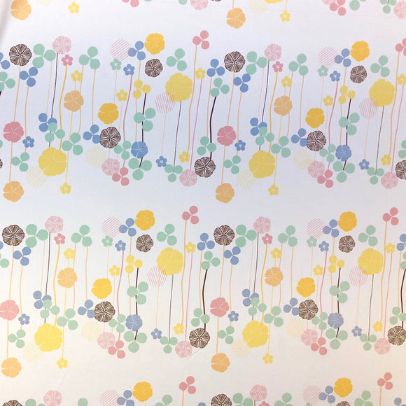 Mixed Clover Curtain Fabric - Pound Fabrics