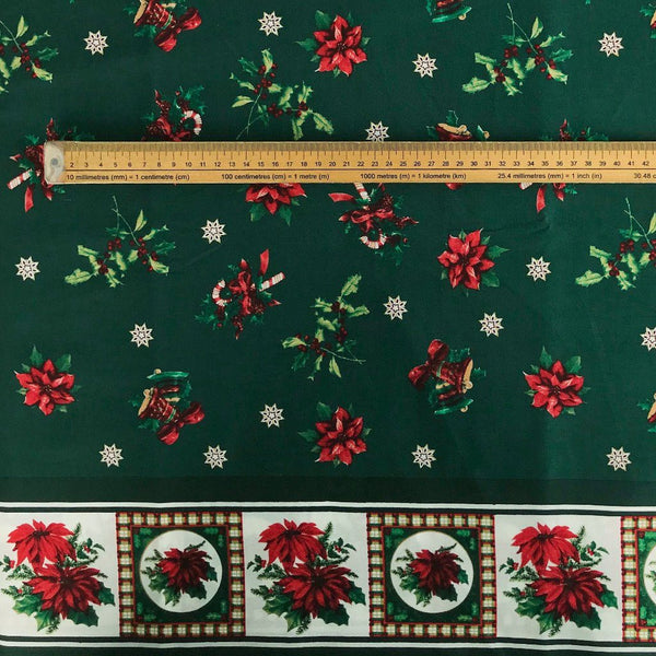 Holly Bunch Cotton Fabric