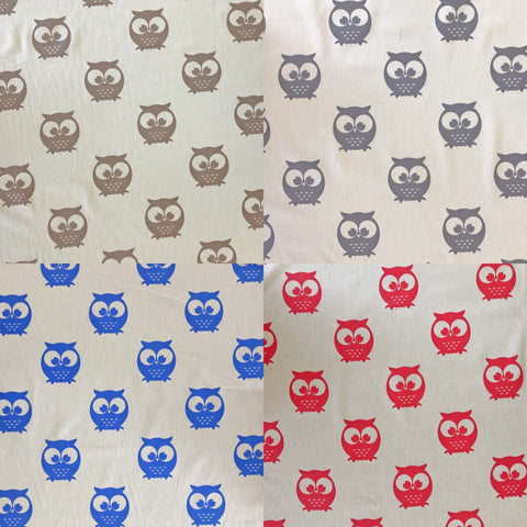 Owls Cotton Fabric