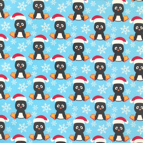 Penguin Polycotton Fabric