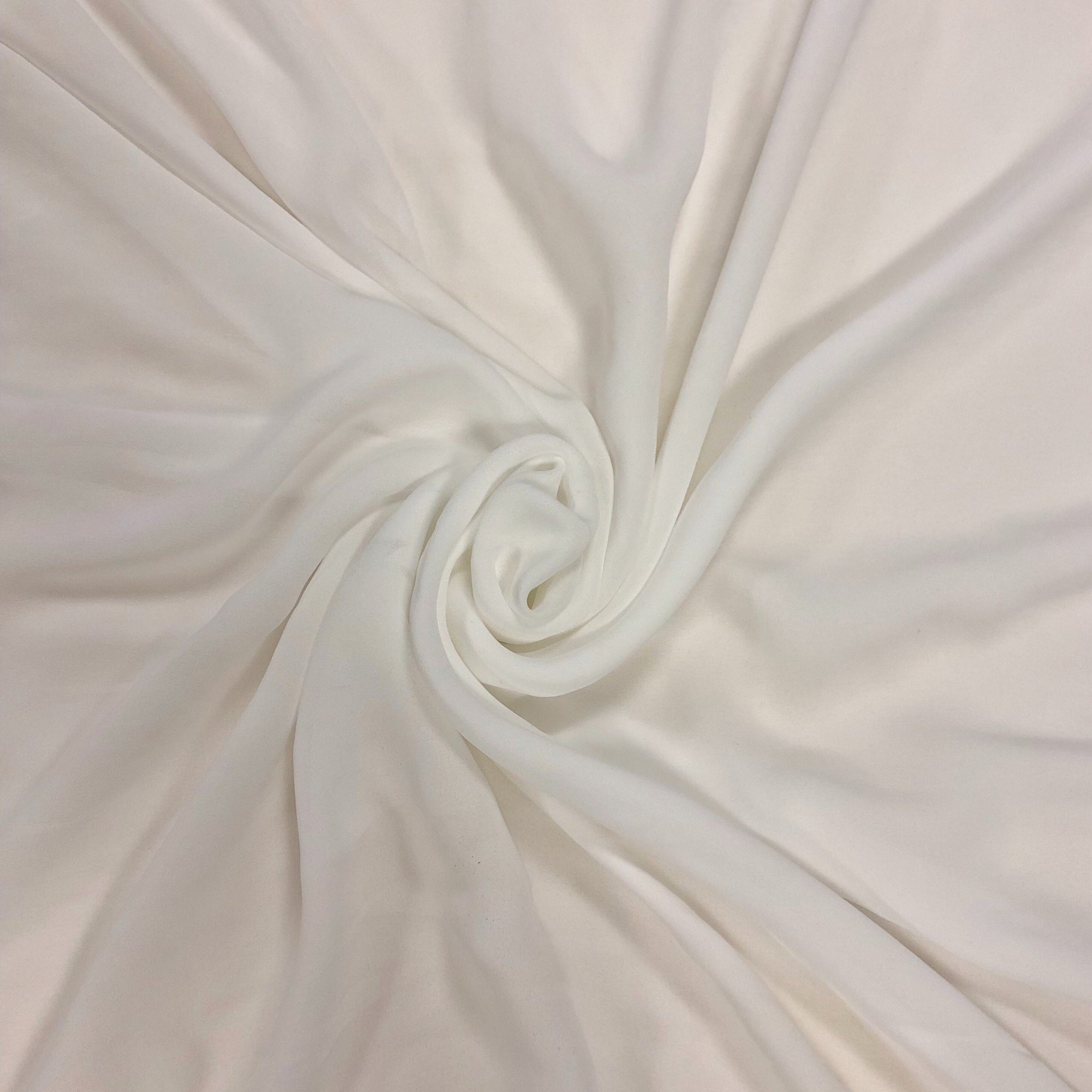 Special Offer - Ivory Shades Chiffon/Georgette Fabric
