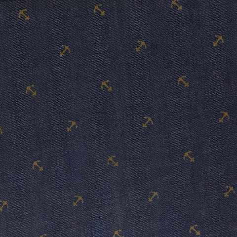 Anchors Denim Fabric