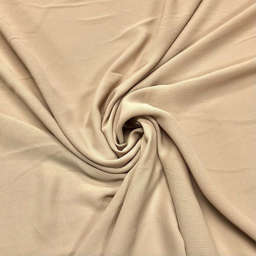 Light Beige Loose Weave Fabric