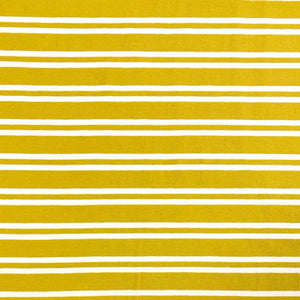 Double Stripe Cotton Jersey Fabric