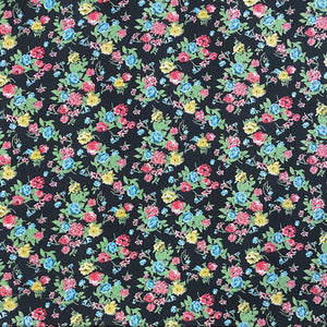 Small Flower Bunch Cotton Poplin Fabric