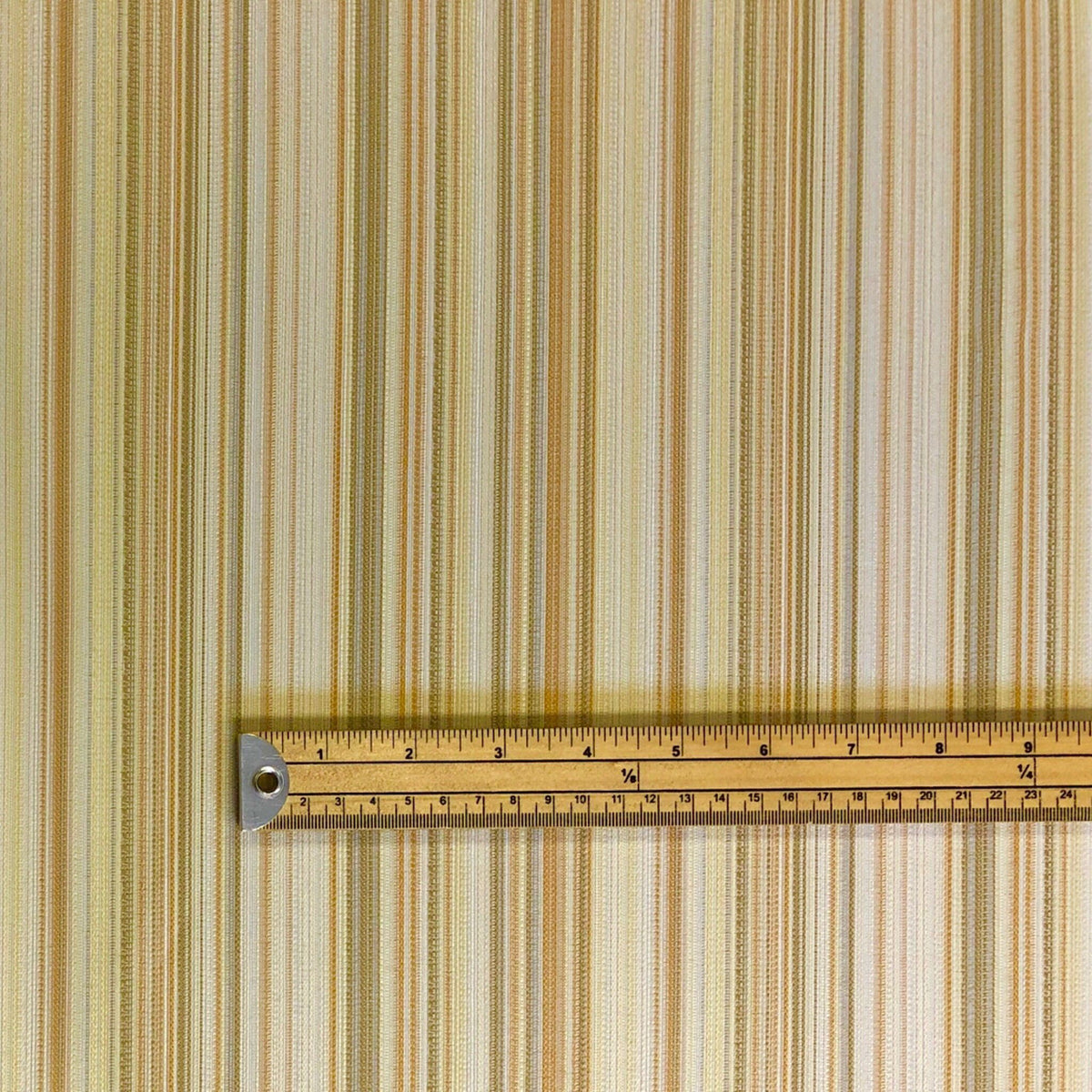 Cream Lines Curtain Fabric