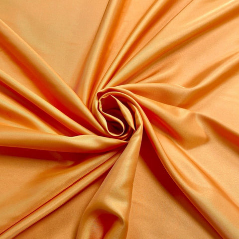 Orange Polyester Fabric