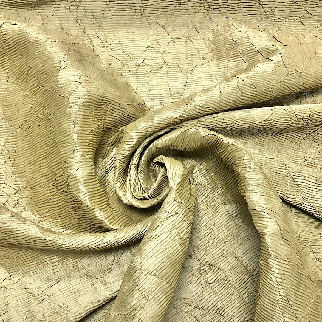 Special Offer Beige/Khaki Polyester Fabric - 3 metres for 3p