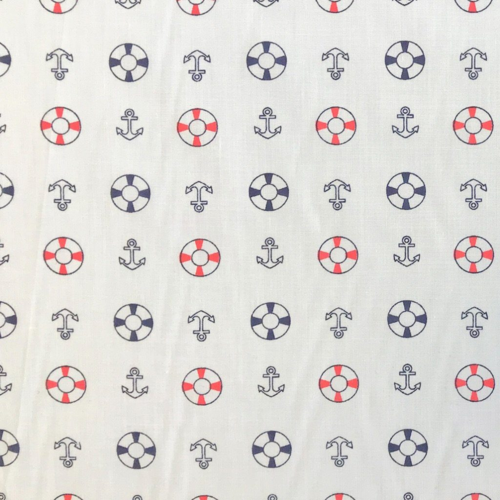Anchors Polycotton Fabric