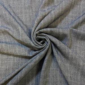 Greyish Blue Suiting Fabric