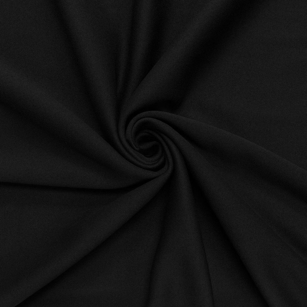 Black Sweatshirt Fabric