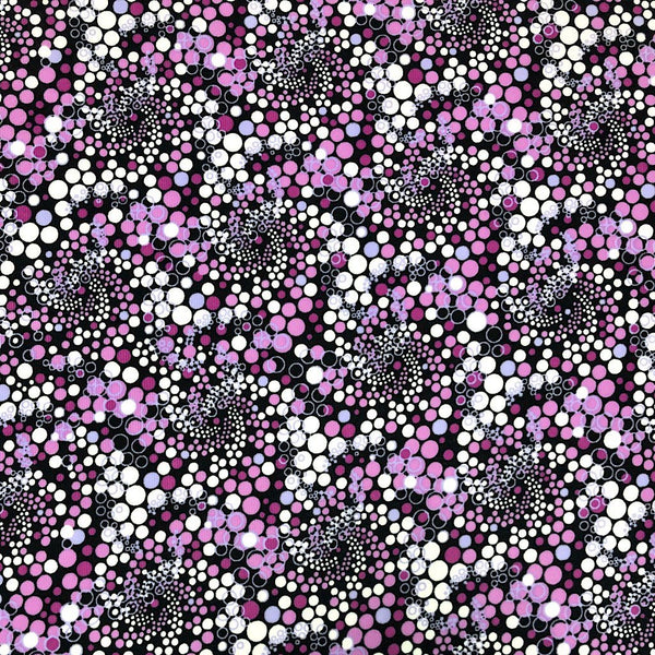 Multi Dots Polyester Fabric