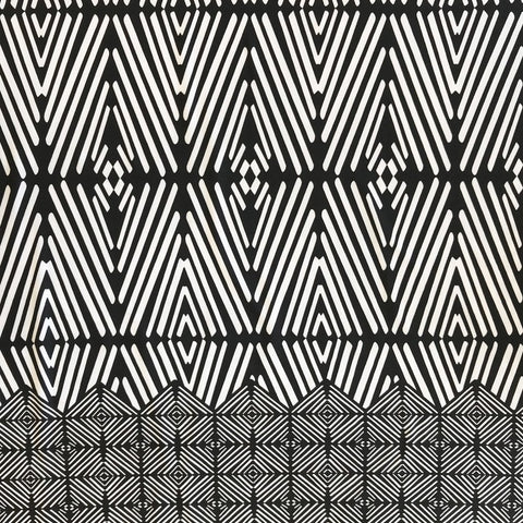 Geometric Diamonds Stretch Fabric