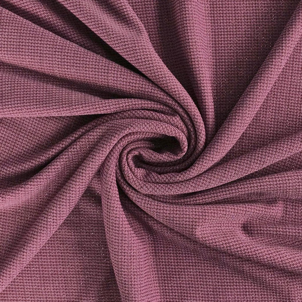 Pink/Purple Lurex Stretch Fabric