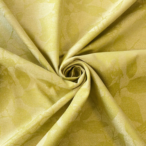 Lime Leaf Design Fabric - Pound Fabrics