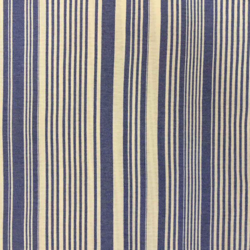 Blue Streaks Viscose Jersey Fabric