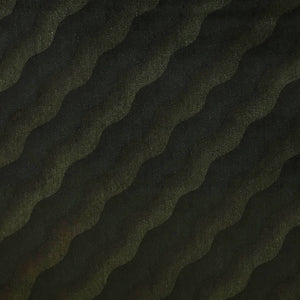 Green Waves Cotton Velvet Fabric - Pound Fabrics