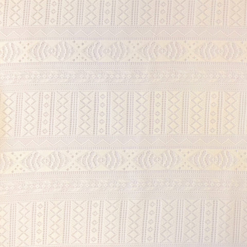 Light Cream Lace Fabric