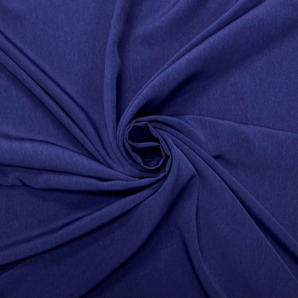 Deep Blue Polyester Fabric