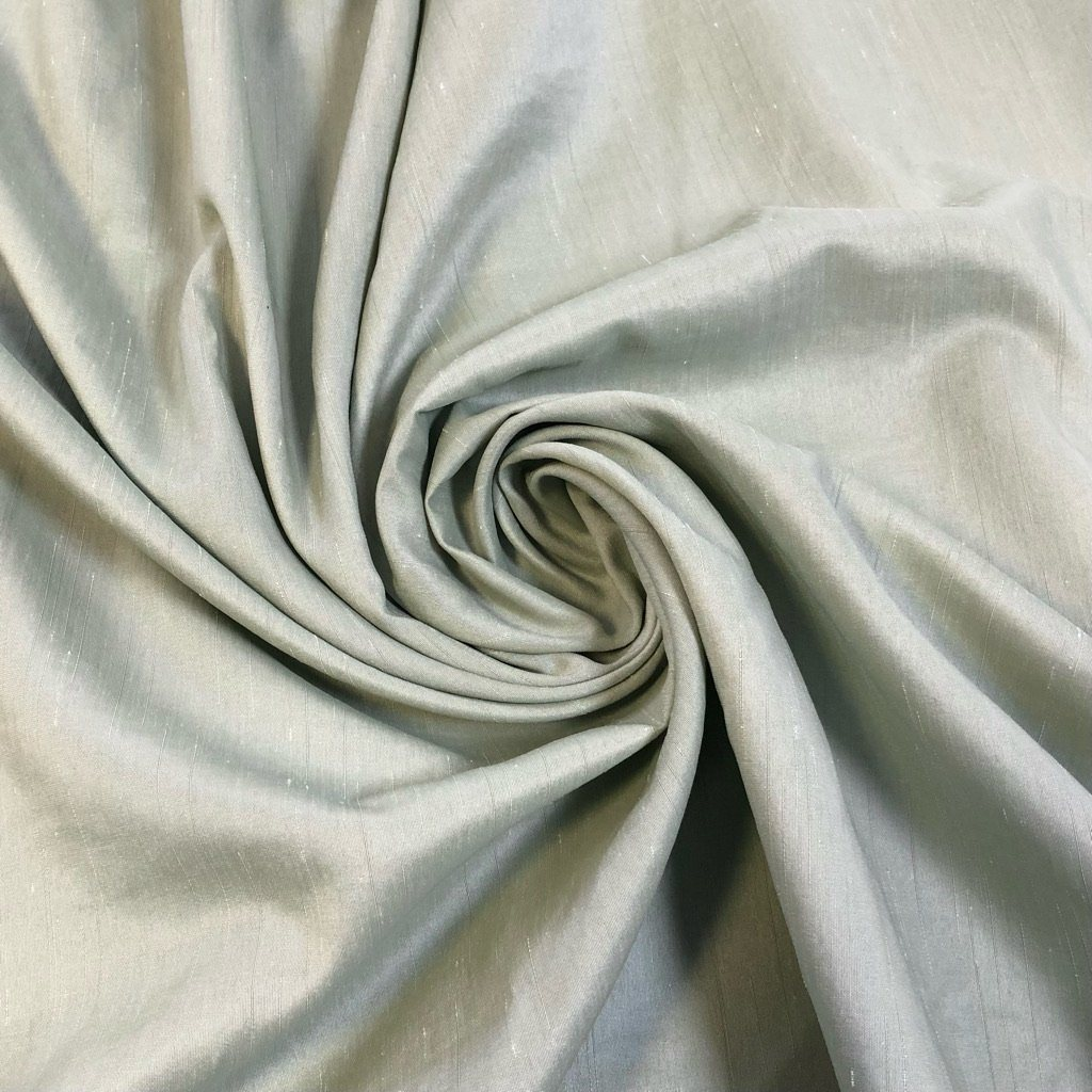 Pale Mint Polyester Fabric - 3 metres for £1