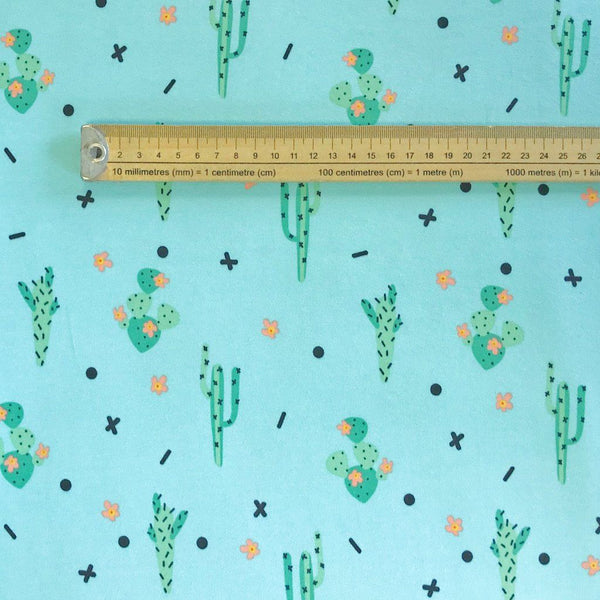 Cactus Cotton Jersey Fabric