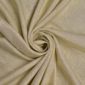 Gold Lurex Stretch Fabric