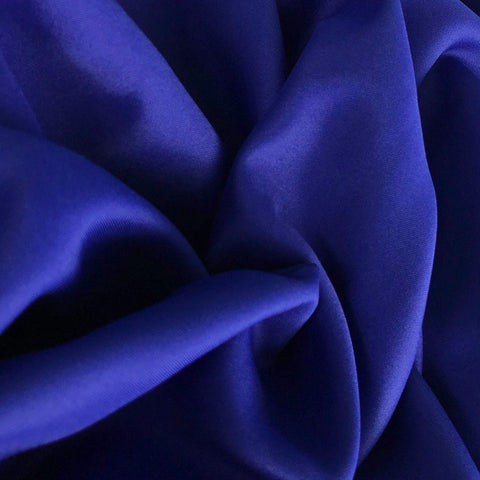 Royal Blue Polyester Fabric