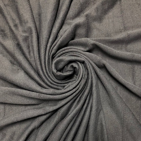 Grey Ruched Fabric
