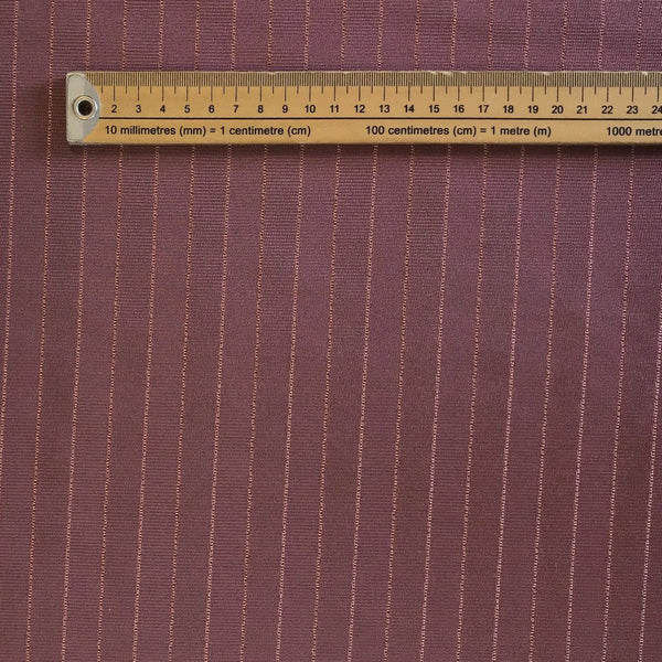 Purple Stripe Furnishing Fabric