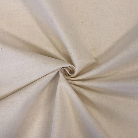 "63"" Wide Calico Fabric - 100 Metre Roll - Pound Fabrics"