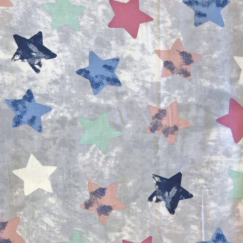 Star Art Viscose Linen Fabric