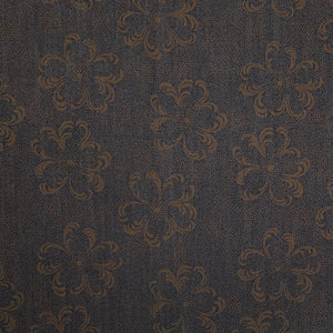 Flower Print Denim Fabric