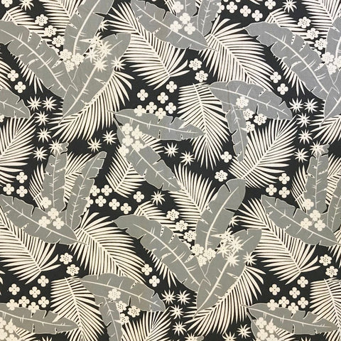 Tropical Leaves Cotton Fabric