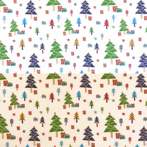 Christmas Trees Cotton Fabric