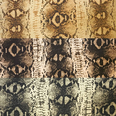 Reptile Polyester Fabric