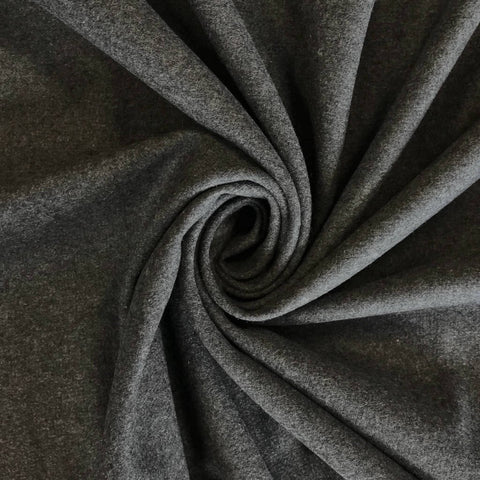Grey Wool Fabric - Pound Fabrics