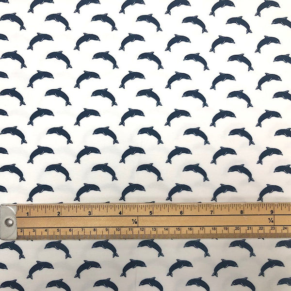 Dolphin Cotton Jersey Fabric