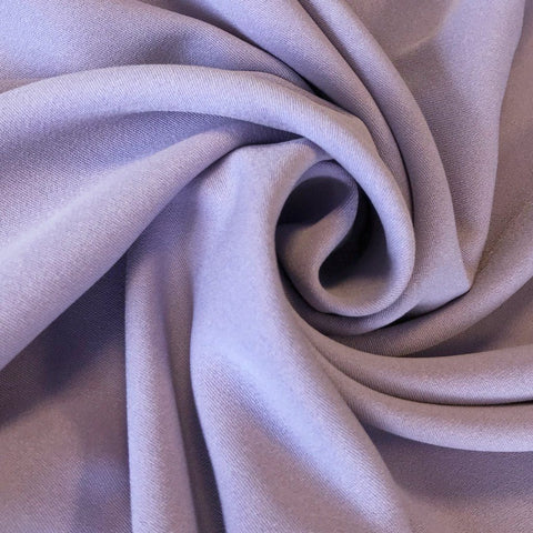 Lilac Moss Crepe Fabric