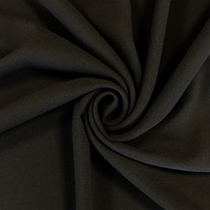 Black Heavy Georgette Fabric