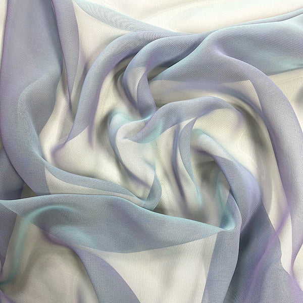 Two Toned Chiffon Fabric