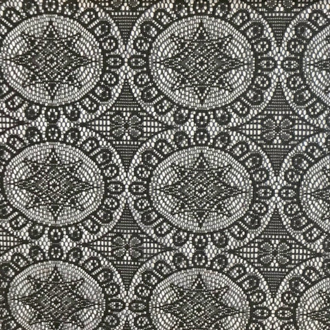 Black Lace Fabric - Pound Fabrics