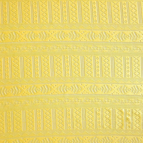 Yellow Lace Fabric - Pound Fabrics