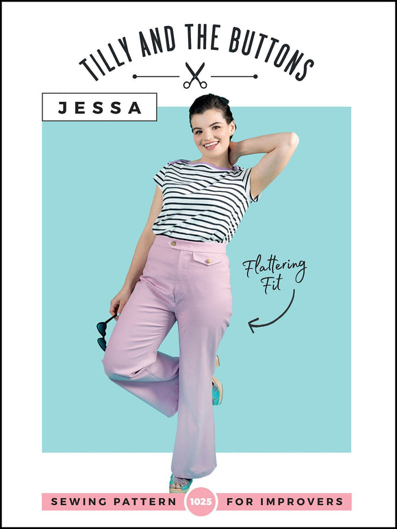 Tilly and the Buttons • Jessa • Improvers - Pound Fabrics