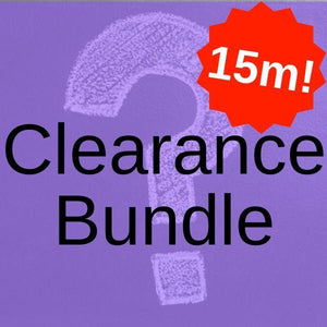Clearance Fabric Bundle 5 x 3 Metres (Total 15 Metres!)